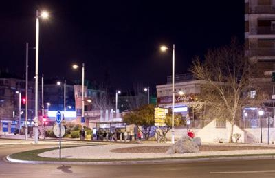 Instalaciones seguras de alumbrado en plena Granada